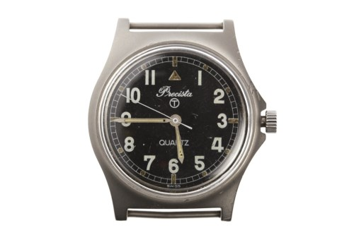 Lot 759-GENTLEMAN'S PRECISTA MILITARY ISSUE STAINLESS...