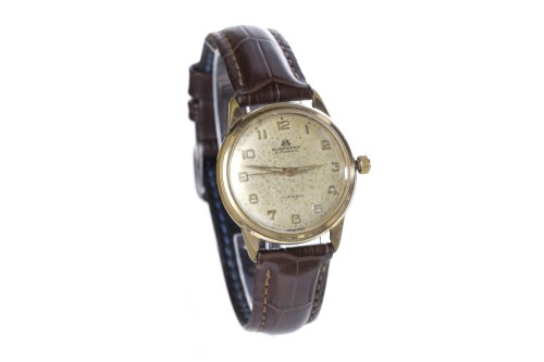 Lot 867-GENTLEMAN'S BUCHERER GOLD PLATED AUTOMATIC WRIST...