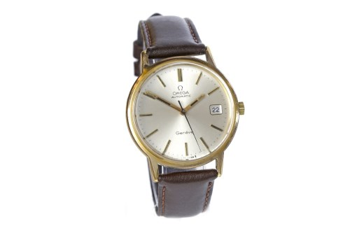 Lot 875-GENTLEMAN'S OMEGA GENEVE GOLD PLATED AUTOMATIC...