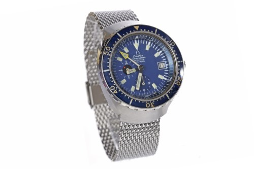 Lot 887-GENTLEMAN'S 'BIG BLUE' OMEGA SEAMASTER AUTOMATIC...