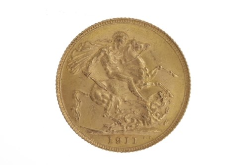 Lot 510-GOLD SOVEREIGN DATED 1911