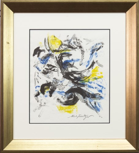 Lot 18-* ALEKSANDER ZYW (POLISH 1905 - 1995), ABSTRACT...