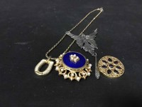 Lot 3-LOT OF COSTUME AND SILVER JEWELLERY including...