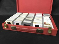Lot 13-LOT OF PHOTOGRAPHIC SLIDES DEPICTING WHISKY...