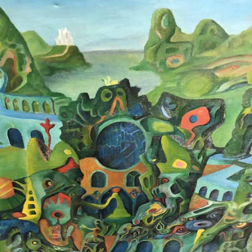 Lot 63-BRITISH SCHOOL (20TH CENTURY) oil on canvas,...