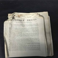 Lot 74-COPY OF 'THE TIMES' for Friday 10th January 1806...