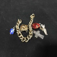 Lot 92-LOT OF COSTUME JEWELLERY including some gold and...