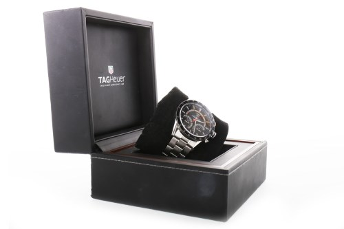 Lot 920-GENTLEMAN'S TAG HEUER CARRERA CALIBRE S LAPTIMER...