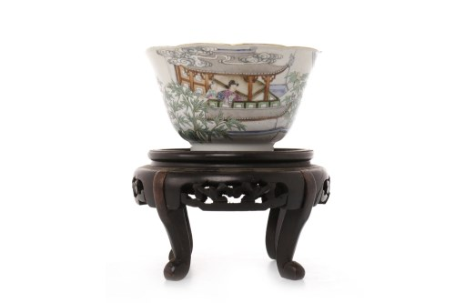 Lot 1072-EARLY 20TH CENTURY CHINESE FAMILLE ROSE TEA...