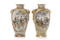 Lot 1083-PAIR OF EARLY 20TH CENTURY OF JAPANESE SATSUMA...