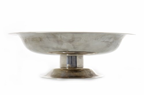 Lot 807-CONTEMPORARY SCOTTISH SILVER COMPORT maker Eric...