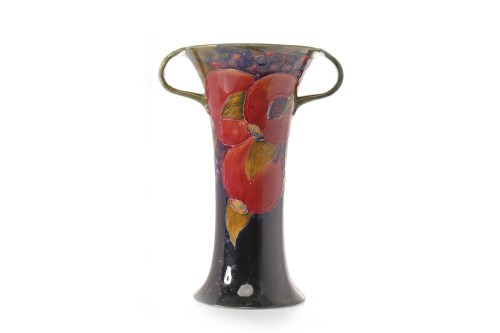 Lot 1209-MOORCROFT 'POMMEGRANATE' PATTERN TWIN HANDLED...