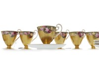 Lot 1247-SET OF SIX EARLY 20TH CENTURY ROYAL WORCESTER...