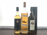 Lot 3-QUEEN MARY 2 Blended Malt Scotch Whisky 100cl,...