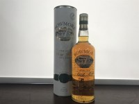 Lot 9-BOWMORE AGED 12 YEARS SCREEN PRINT LABEL Active....