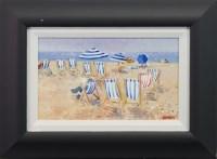 Lot 14-* LIN PATTULLO, SUMMER SUNDAY oil on canvas board,...