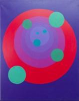 Lot 49-* DAVID CROFT SMITH, JOURNEY 7 acrylic on canvas...