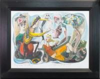 Lot 71-* JOHN BYRNE RSA, NOVA SCOTIA hand coloured...