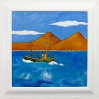 Lot 91-IAIN CARBY, R090 HEADING SOUTH oil on canvas,...