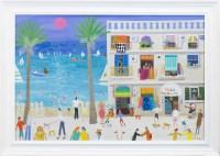 Lot 130-* ALAN FURNEAUX, HOTEL BARCELENETTO oil on canvas,...