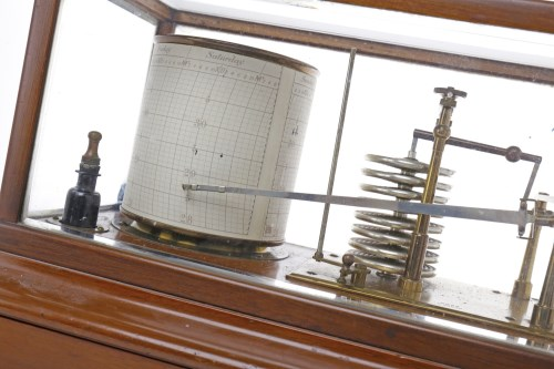Lot 1408-EARLY 20TH CENTURY BAROGRAPH BY ROSS OF LONDON...