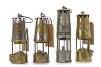 Lot 1410-MINER'S SAFETY PROTECTOR LAMP TYPE 6 NO. 8 by The ...