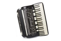 Lot 1419-GALANTI SUPER DOMINATOR PIANO ACCORDIAN ebonised...