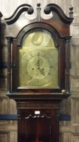 Lot 1423-EARLY 19TH CENTURY SCOTTISH LONGCASE CLOCK by...