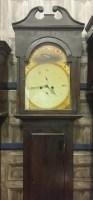 Lot 1443-19TH CENTURY SCOTTISH WEST COAST LONGCASE CLOCK...