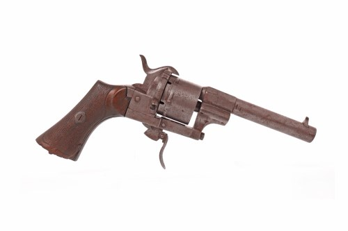 Lot 1602-LATE 19TH CENTURY FRENCH 'LEFAUCHEUX' REVOLVER...