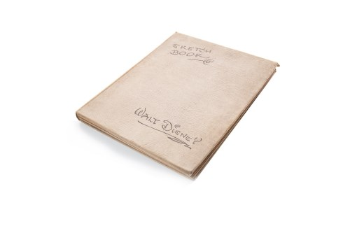 Lot 1614-WALT DISNEY 'SKETCH BOOK' printed and bound by Wm....