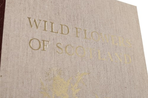 Lot 1650 - MARY MCMURTRIE WILD FLOWERS OF SCOTLAND...