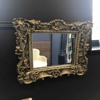 Lot 5-GILT FRAMED MIRROR