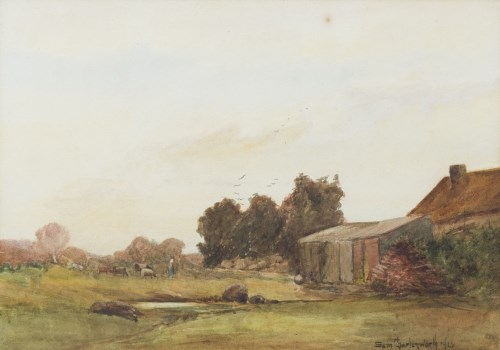 Lot 30-SAM CHARLESWORTH (ENGLISH 19TH/20TH CENTURY),...