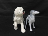 Lot 34-LOT OF CERAMIC ANIMALS including a Royal Doulton...