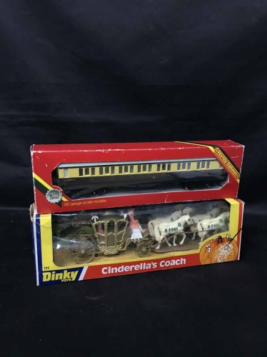 Lot 36-LOT OF DIE-CAST VEHICLES including Dinky,...