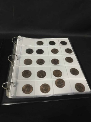Lot 46-LOT OF COINS including Victorian, Edwardian, and...