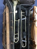 Lot 47-CASED JUPITER TROMBONE