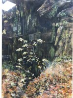 Lot 48-CONTEMPORARY SCHOOL, FOREST SCENE pastel on paper,...