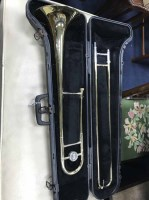 Lot 51-CASED BACH TROMBONE