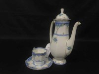 Lot 65-ROYAL DOULTON 'ARVON' COFFEE SERVICE along with...