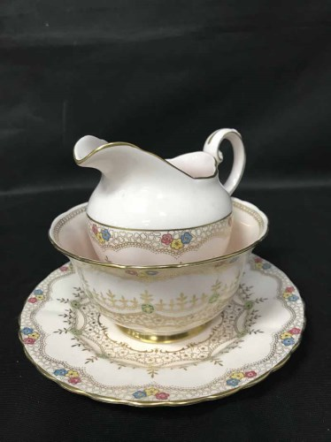 Lot 70 - TUSCAN PART TEA SERVICE along with other...