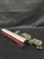 Lot 77-TRAIN SET along with train track and accessories, ...