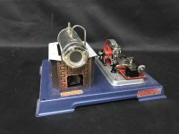 Lot 83-DAMPFMASCHINE STEAM ENGINE BY WILESCO