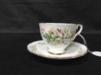 Lot 93-ROYAL STAFFORD 'TROUSSEAU' PART TEA SERVICE...