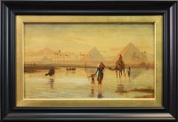 Lot 57-FREDERICK GOODALL RA (BRITISH 1822 - 1904), THE...