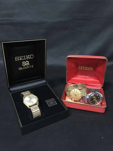 Lot 3-LOT OF COSTUME JEWELLERY including Seiko Quartz...