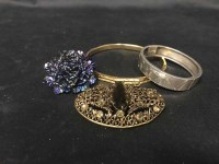 Lot 17-LOT OF COSTUME JEWELLERY including rings,...