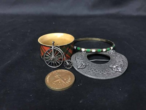 Lot 19-LOT OF COLLECTABLES including coins, along with...