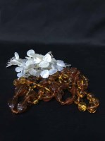 Lot 46-GROUP OF COSTUME JEWELLERY to include two...
